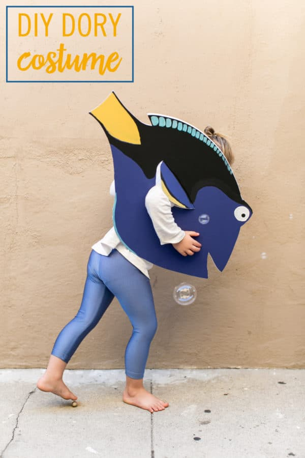DIY Dory Costume, Finding Dory Birthday Party Ideas | Pretty My Party