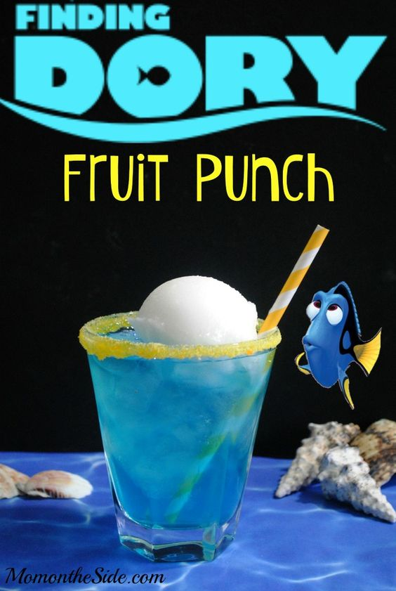 Fruit Punch, Finding Dory Birthday Party Ideas | Pretty My Party
