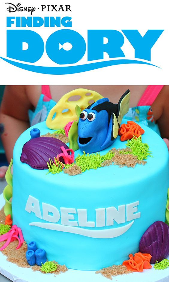 40 Finding Dory Birthday Party Ideas Pretty My