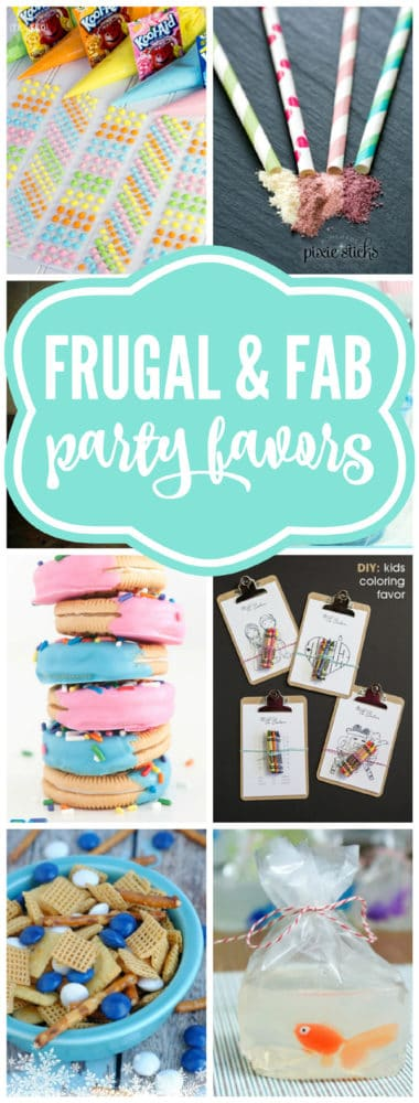 Budget Birthday Favor Ideas | Pretty My Party