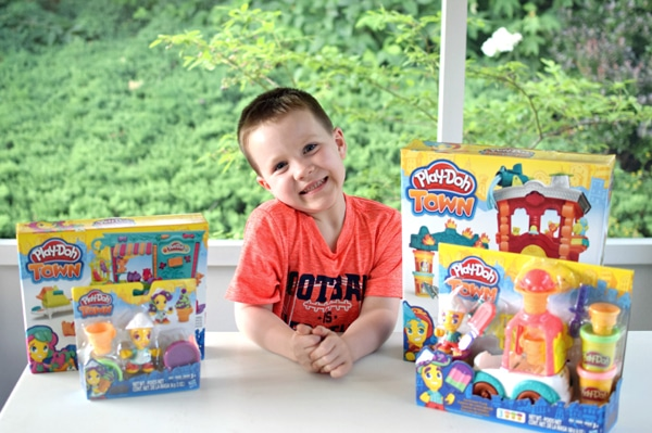Play-Doh Town Playset Fun via Pretty My Party