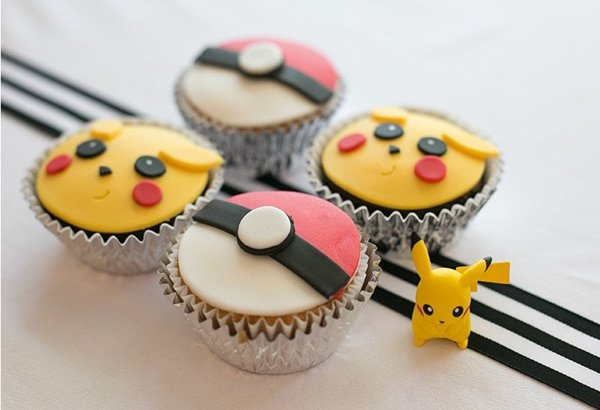 Pokemon Cookies, Creative Pokemon Birthday Party Ideas via Pretty My Party
