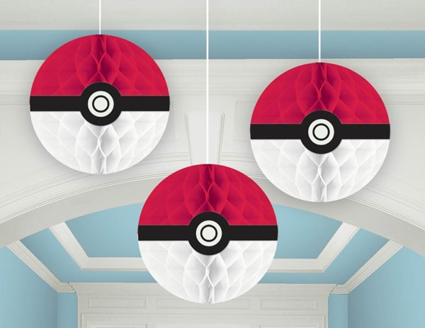 Pokemon Party Decor, Pokemon Party Ideas via Pretty My Party