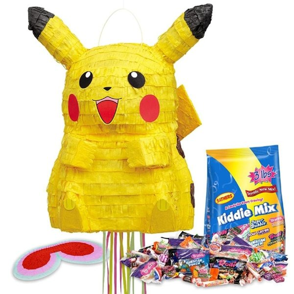 Pokemon Piñata Kit, Pokemon Party Ideas via Pretty My Party