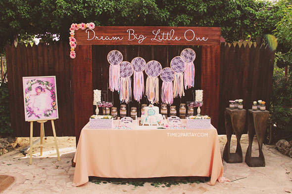 Dream Catcher Themed Baby Shower