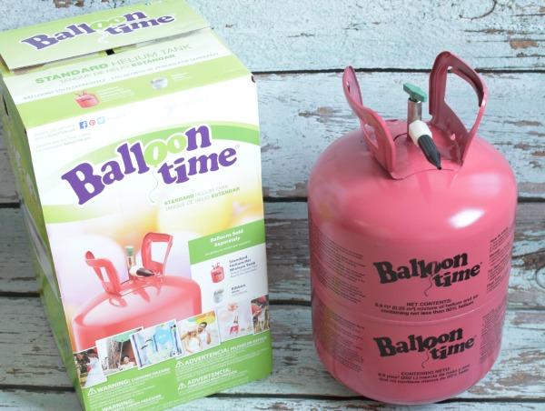 Balloon Time Tank, DIY Ice Cream Cone Balloons via Pretty My Party