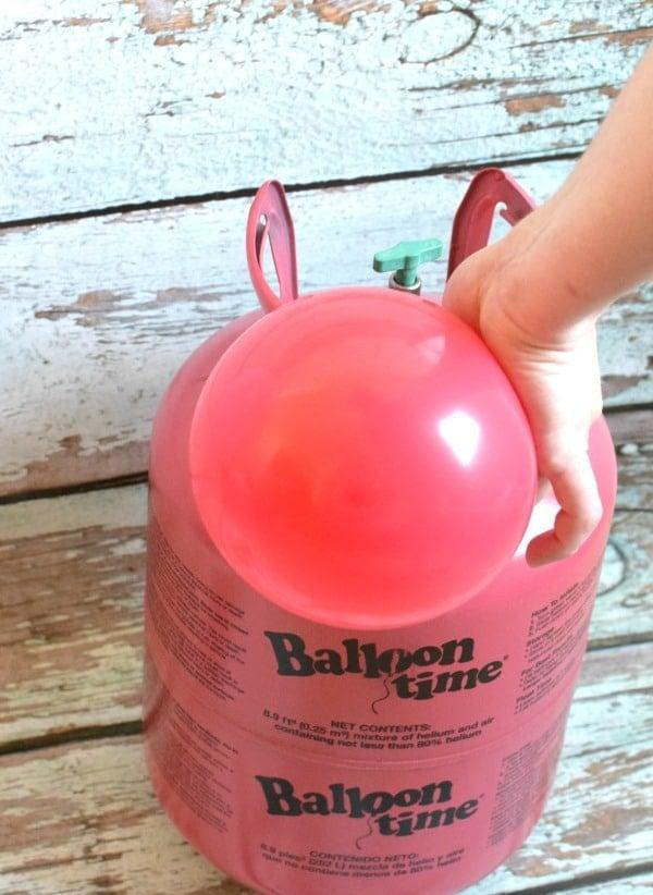 balloon time helium tank instructions