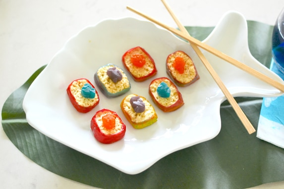 Finding Dory Snack Ideas via Pretty My Party