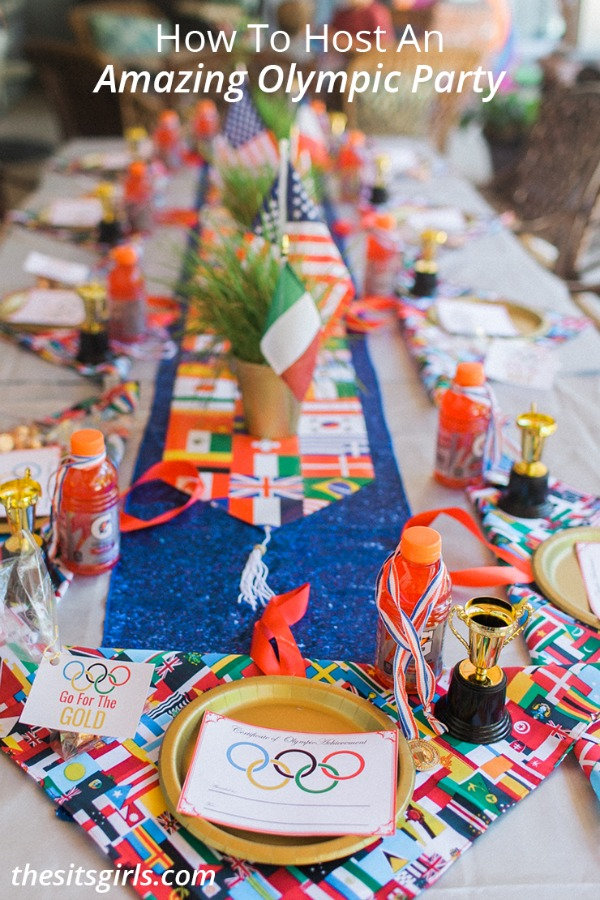 How to host an amazing Olympic party, 13 Creative Olympic Party Ideas via Pretty My Party