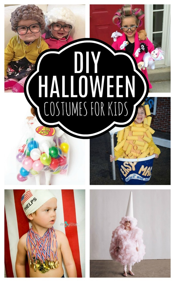 14 Best DIY Halloween Costumes For Kids on Pretty My Party