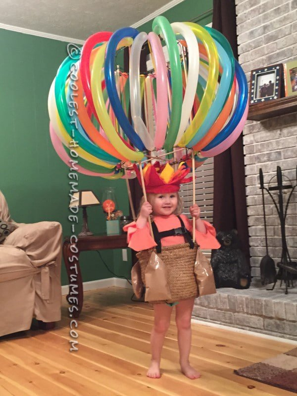 Awesome DIY Hot Air Balloon Costume For Kids