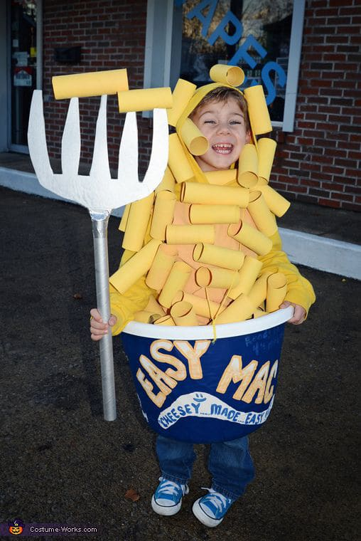 Mac and Cheese Halloween Costume For Kids