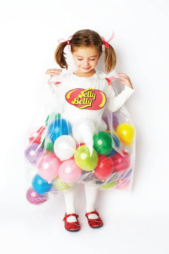 Jelly Belly Jelly Bean Costume For Kids