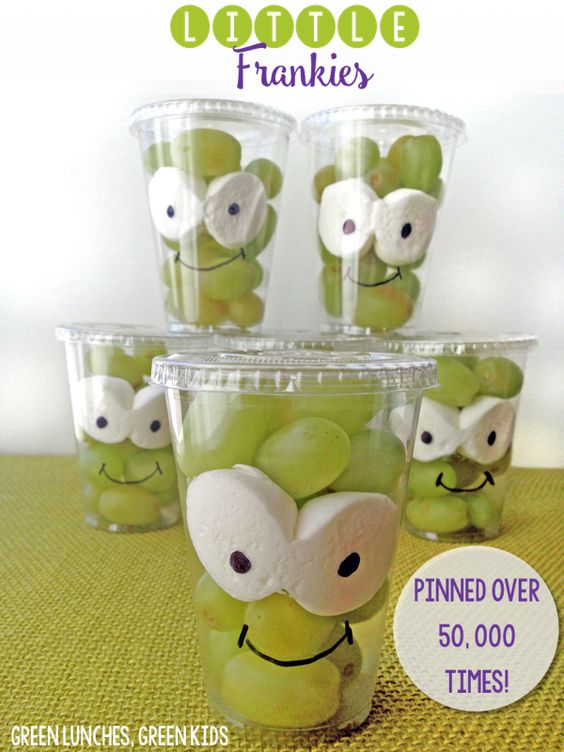 Little Frankies Healthy Halloween Snacks For Kids