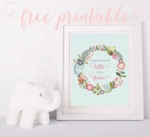 17 Free Baby Nursery Printables via Pretty My Party