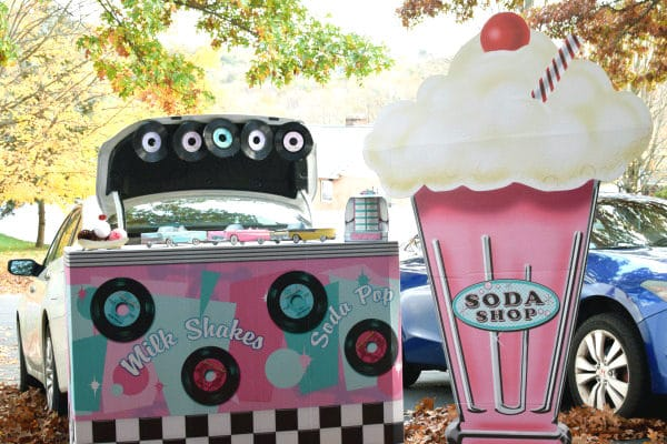 Fifties Soda Shop Halloween Trunk Theme