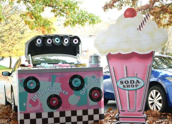 Fifties Soda Shop Halloween Trunk Theme Pretty My Party