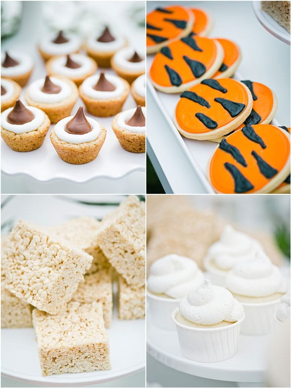 Welcome to the Jungle Baby Shower Desserts via Pretty My Party