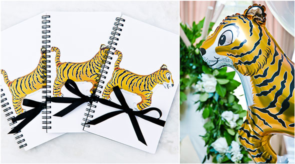 Welcome to the Jungle Baby Shower Ideas via Pretty My Party