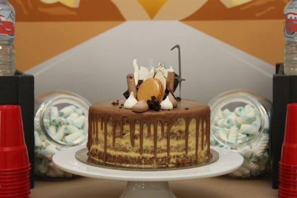 Disney's Cars Themed Birthday Party Cake | Pretty My Party