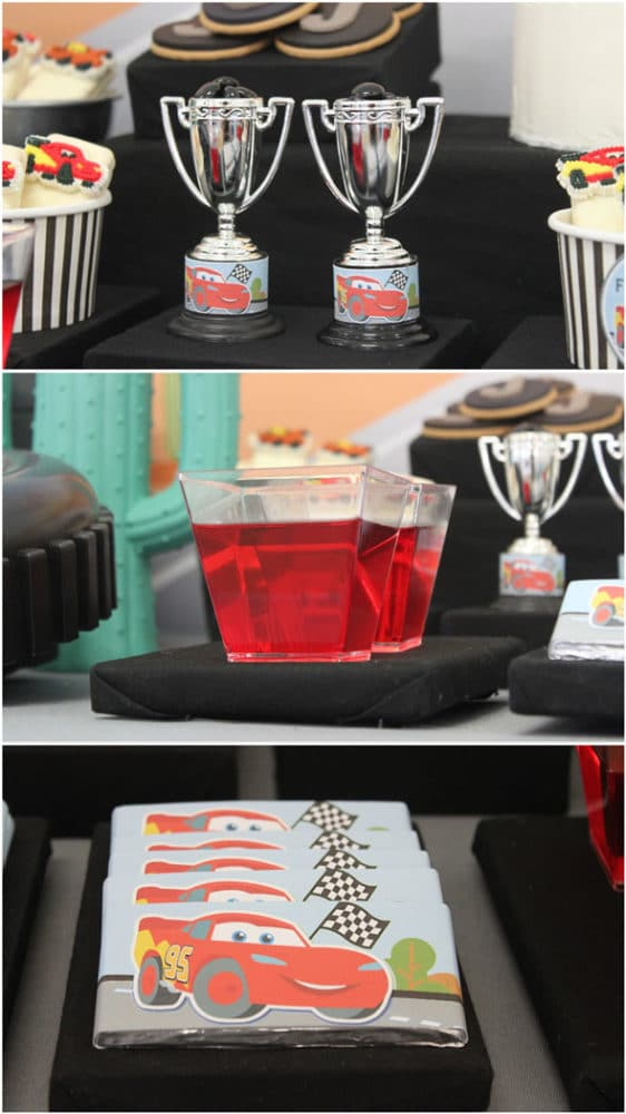 Disney's Cars Themed Birthday Party Decorations | Pretty My Party