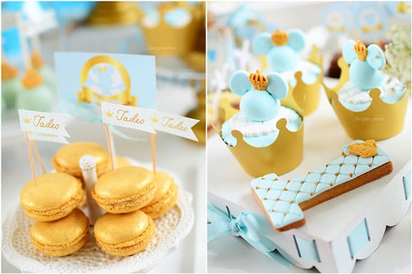 Royal Mickey Birthday Party desserts | Pretty My Party