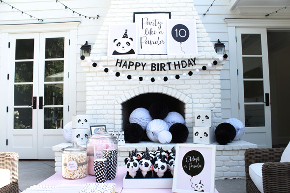 Party Like A Panda Birthday Party