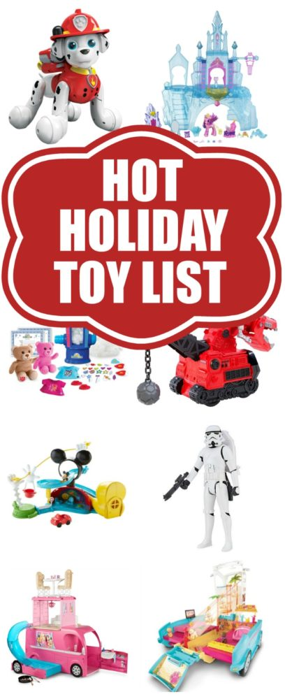 25 Hottest Holiday Toys via Pretty My Party