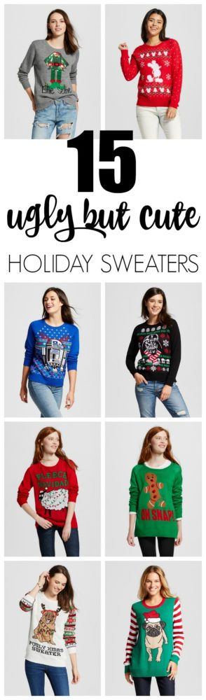 15 Ugly Christmas Sweaters - Cute But Ugly - Pretty My Party