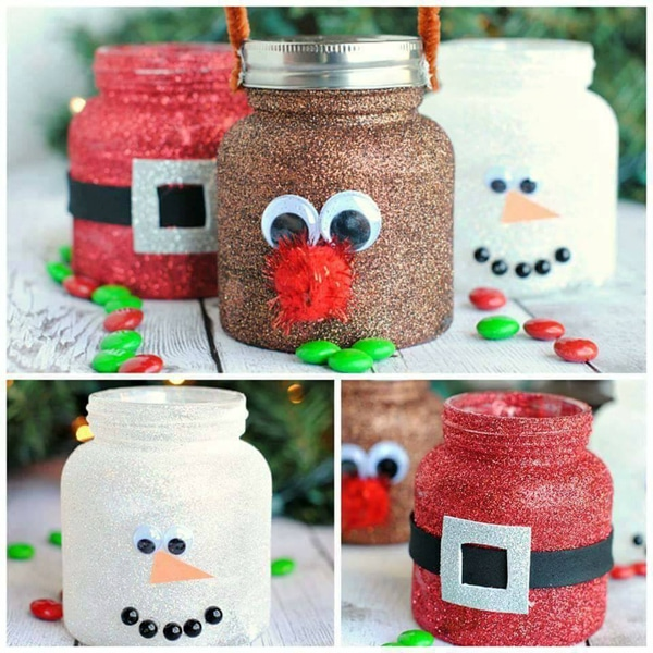 DIY Christmas Treat Jars