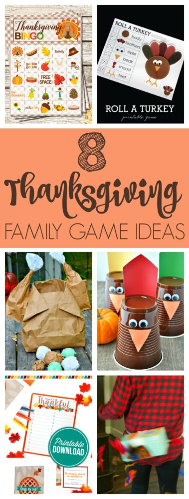 Free printable thanksgiving bingo game pretty my party