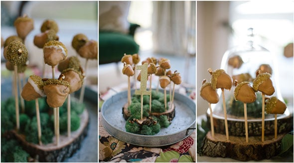 Woodland Themed First Birthday | Pretty My Party