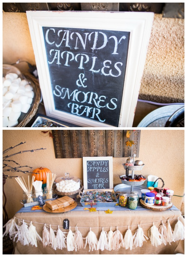 Candy Apple and Stores Bar | Pretty My Party