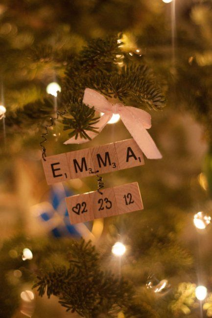 Baby's First Christmas DIY Christmas Ornament