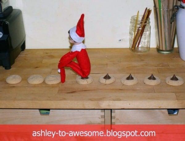 Elf on the Shelf Poop Cookies Idea
