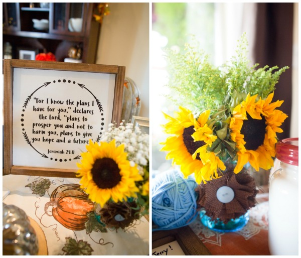 Fall Themed Baby Shower Sunflowers | Pretty My Party