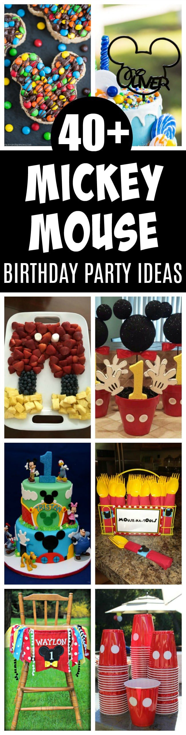 40+ Mickey Mouse Birthday - Pretty My Party