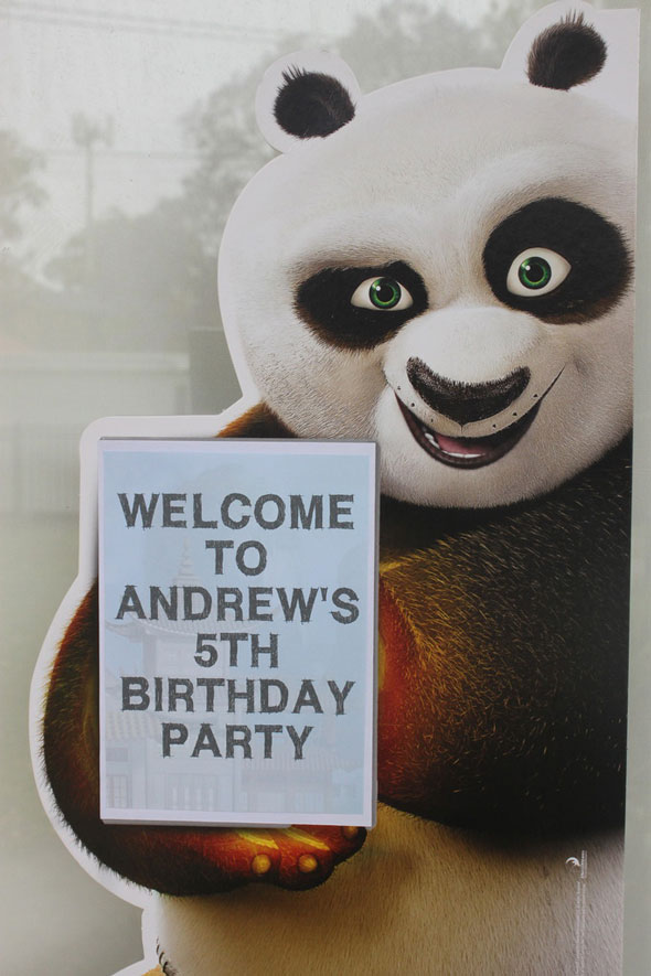 Kung Fu Panda Birthday Party