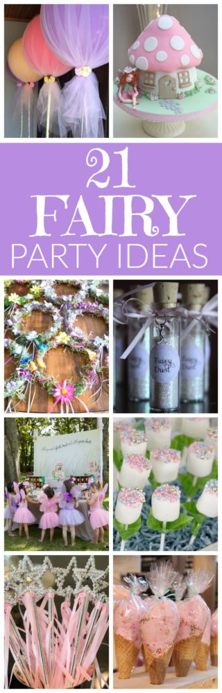 21 fabulous fairy party ideas pretty my party for 21st birthday decoration ideas pinterest