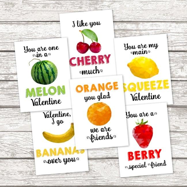 Free Printable School Valentine Cards Pretty My Party – Class Valentine Cards