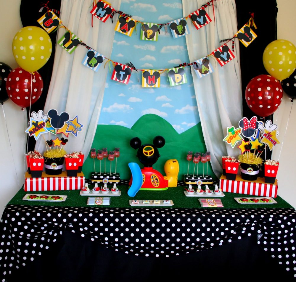 40 Mickey Mouse Party Ideas Pretty My Party