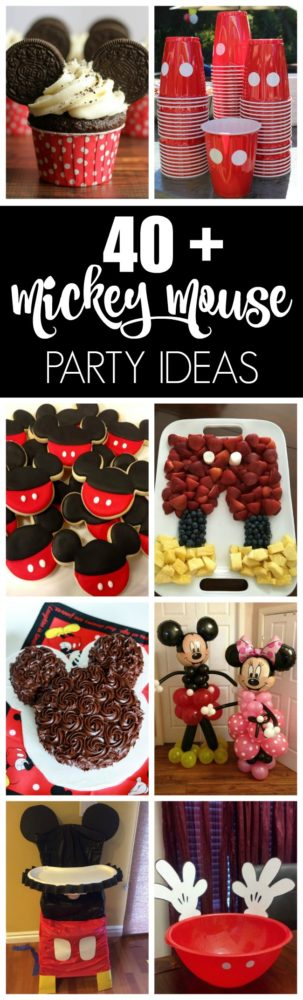 40+ Mickey Mouse Party Ideas | Pretty My Party