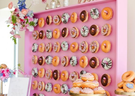 15 Unforgettable Donut Wall Display Ideas