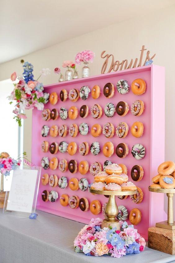 Donut Wall 1 Pink Display
