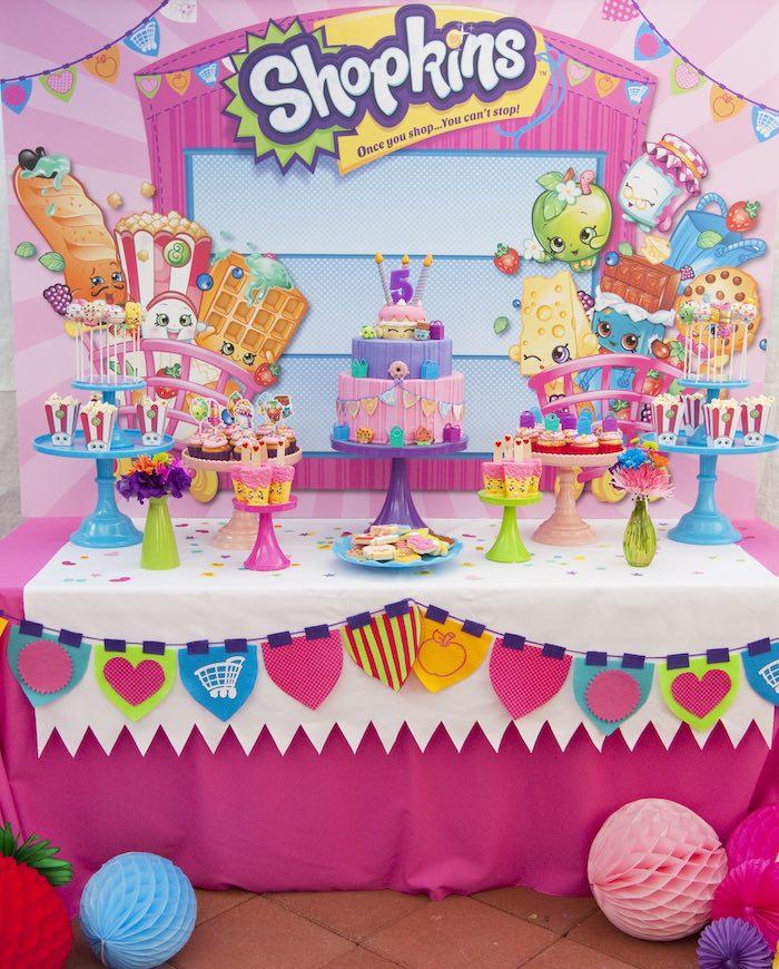 21 Adorable Shopkins Party Ideas