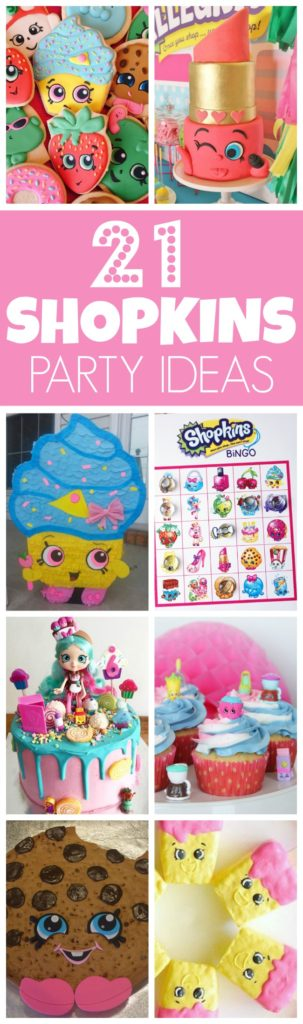 21 Adorable Shopkins Party Ideas   Pretty My Party