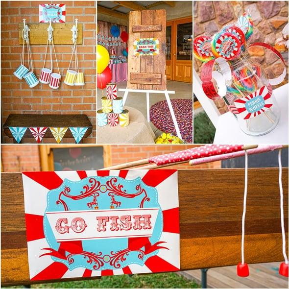 Backyard Carnival Party