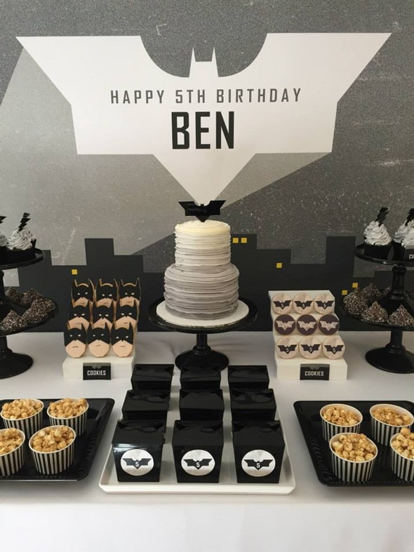 Modern Batman Birthday Party | Pretty My Party