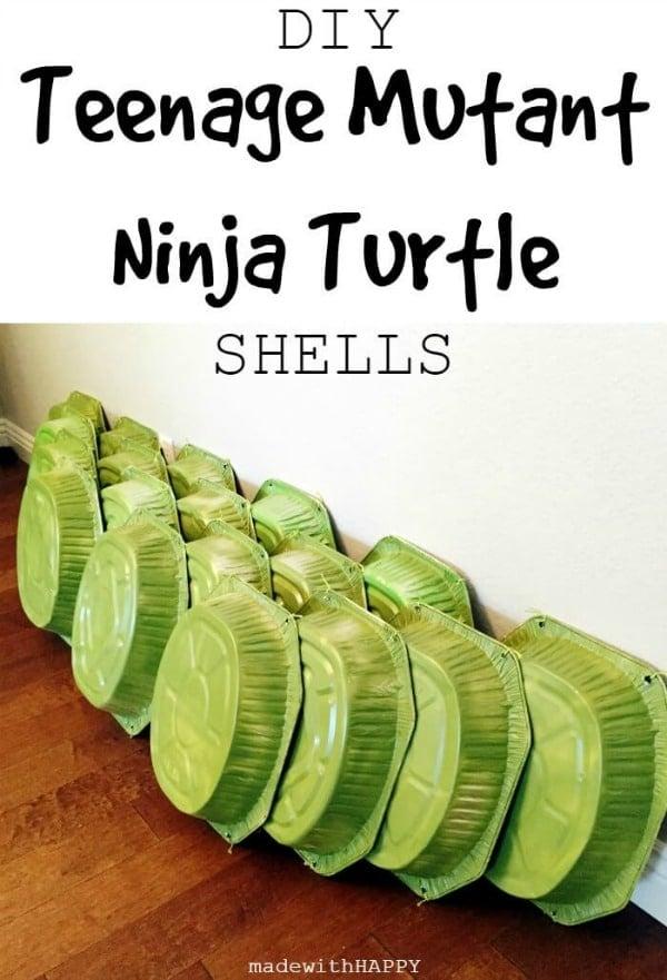 DIY Ninja Turtle Shells