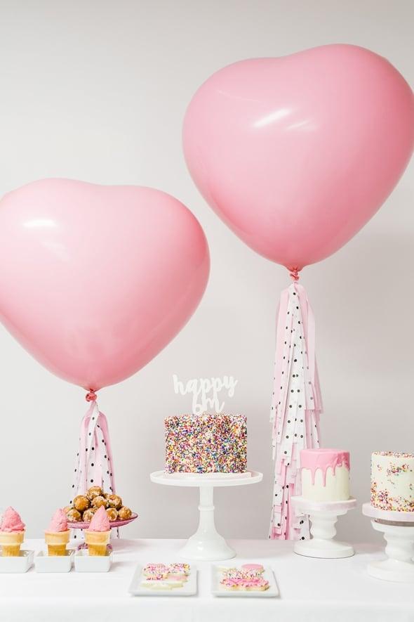 Little Sprinkles Birthday Fun Dessert Table | Pretty My Party